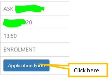 click on application form