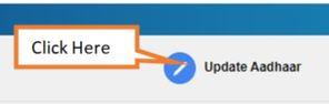 click on update Aadhaar card